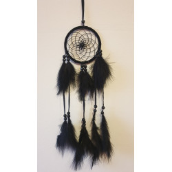 Lapač snů černý  - 45 cm