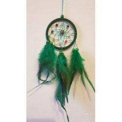Lapač snů zelený - 21 cm