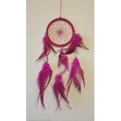 Lapač snů růžový  - 39 cm