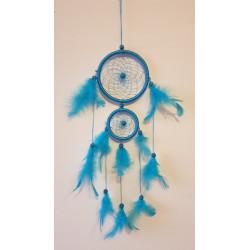 Lapač snů modrý - 42 cm (2...