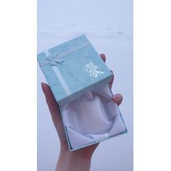 Mintová krabička s mašlí